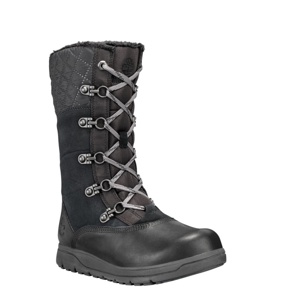 TIMBERLAND WOMEN'S HAVEN POINT WP TALL WINTER BOOT NWT